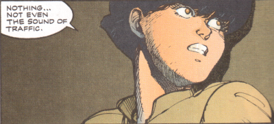 panel from Akira #12 (Epic) by Katsuhiro Otomo
